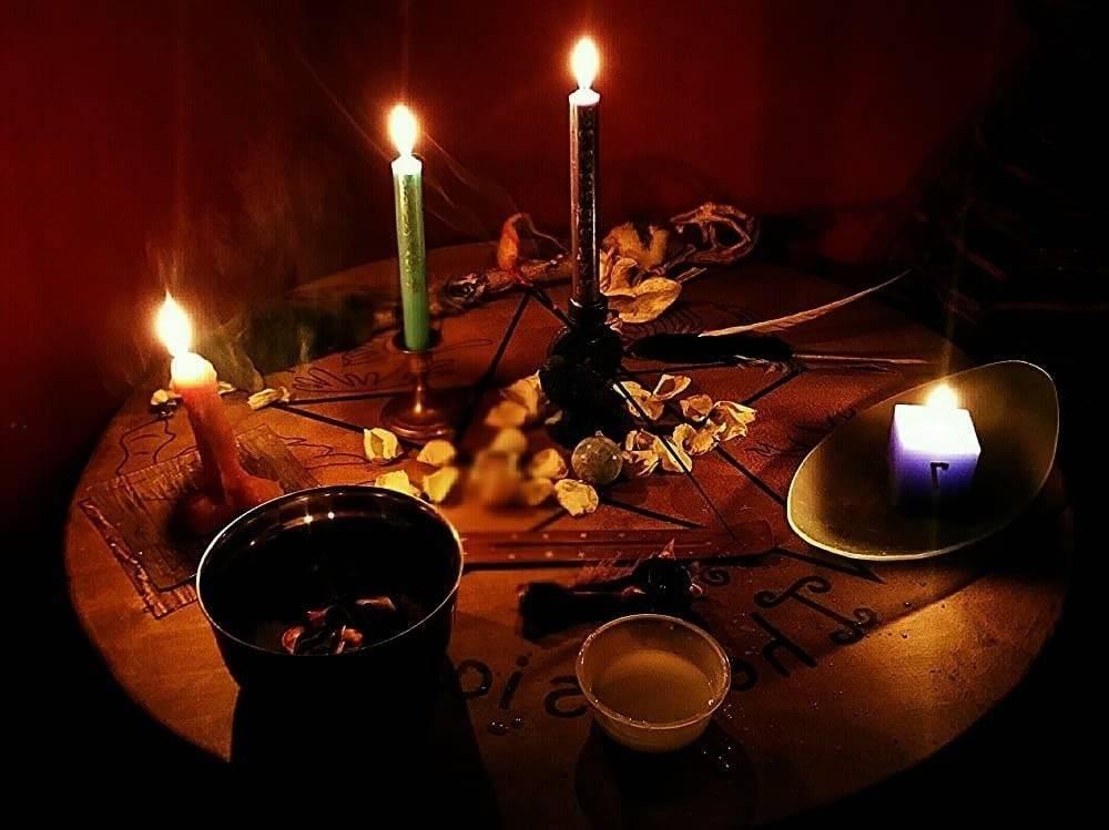 Наговоры на черную свечу