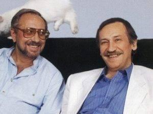 Леонид Филатов и Владимир Качан