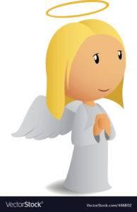 В восковом гадании может появиться ореол в виде нимба над головой ангела