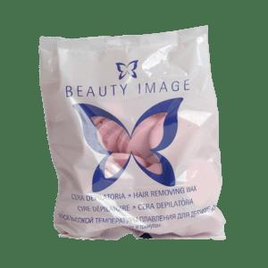 Горячий воск для депиляции в дисках с розовым маслом Beauty Image hair removing wax