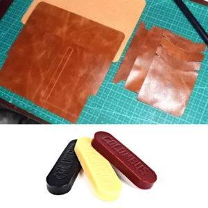 Обработка кожи воском