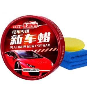 Китайский воск для авто красного цвета Platinum New Cars Wax