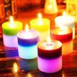 Свечи из воска цветные значение