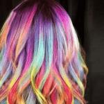 Цветной воск для волос