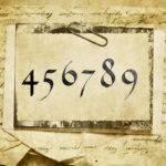 Значение цифр на воске