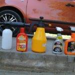 Нанесение горячего воска на авто