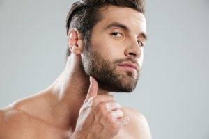 депиляция бороды у мужчин воском