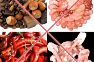 запрещенный продукты