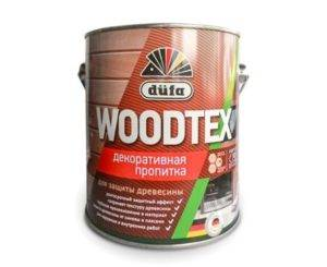 Антисептик для дерева с воском Dufa WoodTex Белый