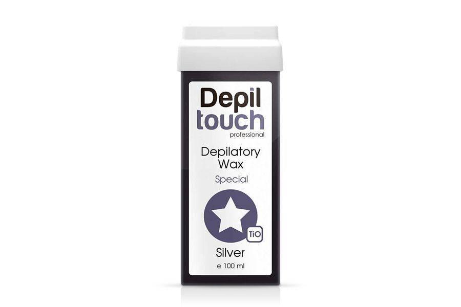Depiltouch воск с серебром