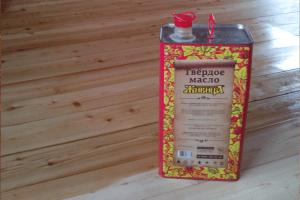 Масла и воски для древесины Живица