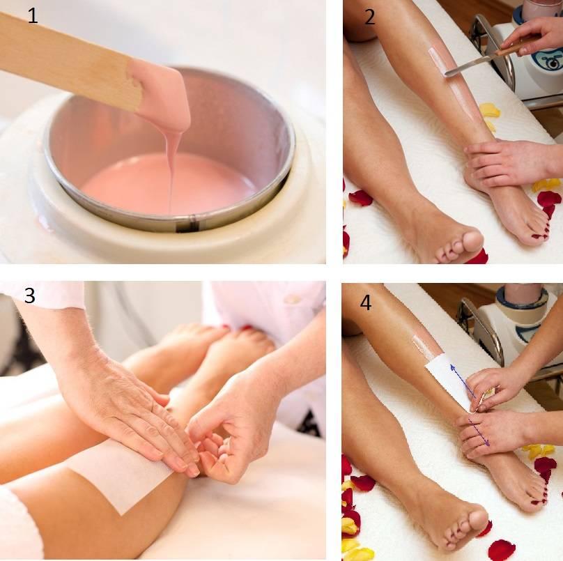 Воск для удаления волос на ногах в домашних условиях как сделать