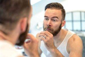 Волосы в ноздрях у мужчин