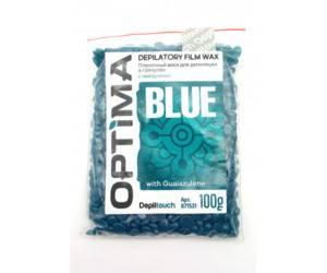Пленочный воск Depiltouch OPTIMA BLUE 100 грамм
