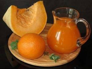 Тыквенный сок с апельсином на зиму из восковой дыни