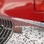 Покрытие автомобиля горячим воском