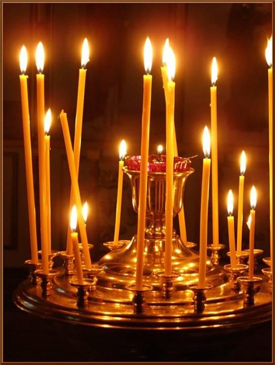 Церковные свечи