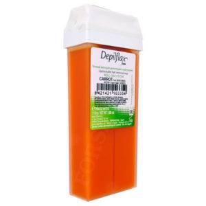 Воск кремовый Морковный Depilflax 100