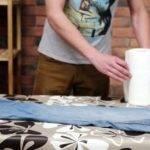 Как убрать парафин с одежды, ткани, ковра