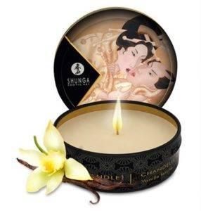 Массажное масло свеча – ваниль 150 грамм