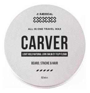 Воск для бороды, усов и волос Carver All In One Travel Wax