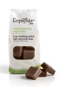 Горячий воск в кубиках Depilflax какао 0,5 кг