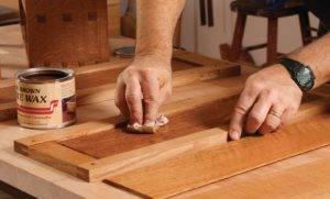 Воск для древесины