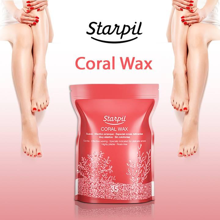 Coral wax starpil