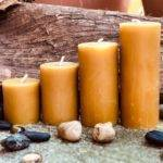 Натуральная восковая свеча где купить