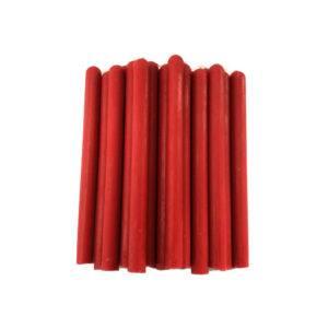 Красные восковые свечи