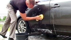 Воск смываемый водой для авто