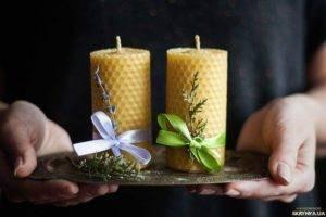 Восковые свечи своими руками