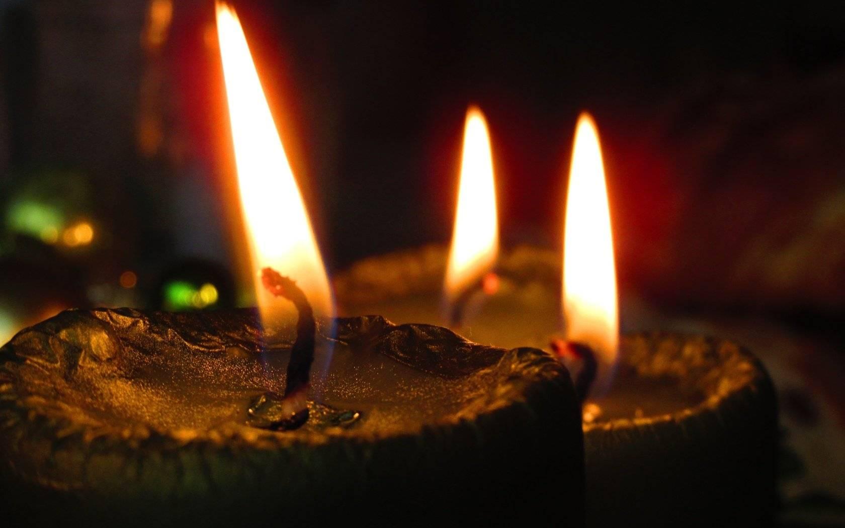 свеча без воска