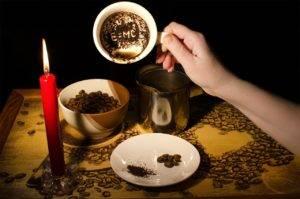 Гадание на кофе и воске