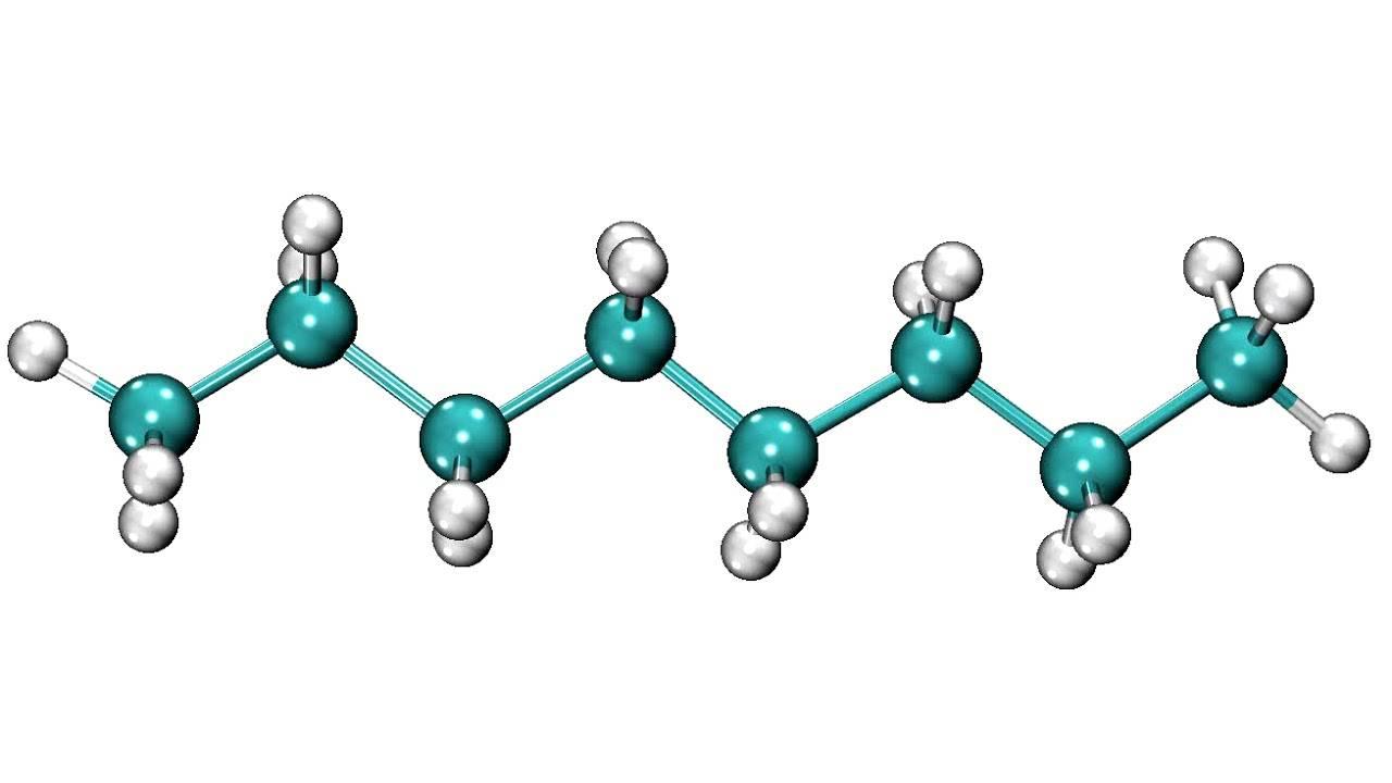 Молекула парафина
