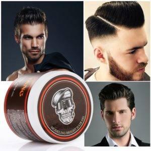 Как уложить волосы назад мужчине воском