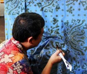 Индонезийская капля воска