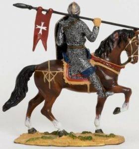 рыцарь из воска фигура