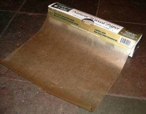 Бумага покрытая воском