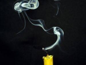 дым от воска