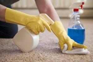 Как убрать воск с ковролина