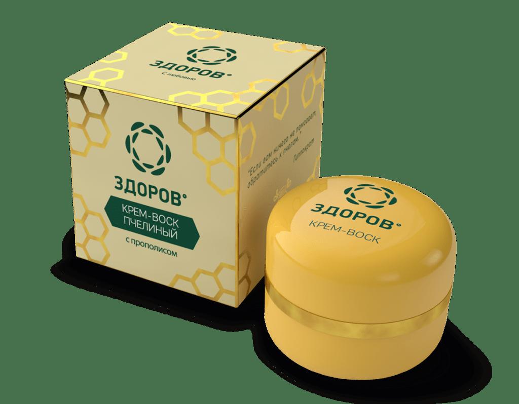 Крем воск пчелиный Здоров