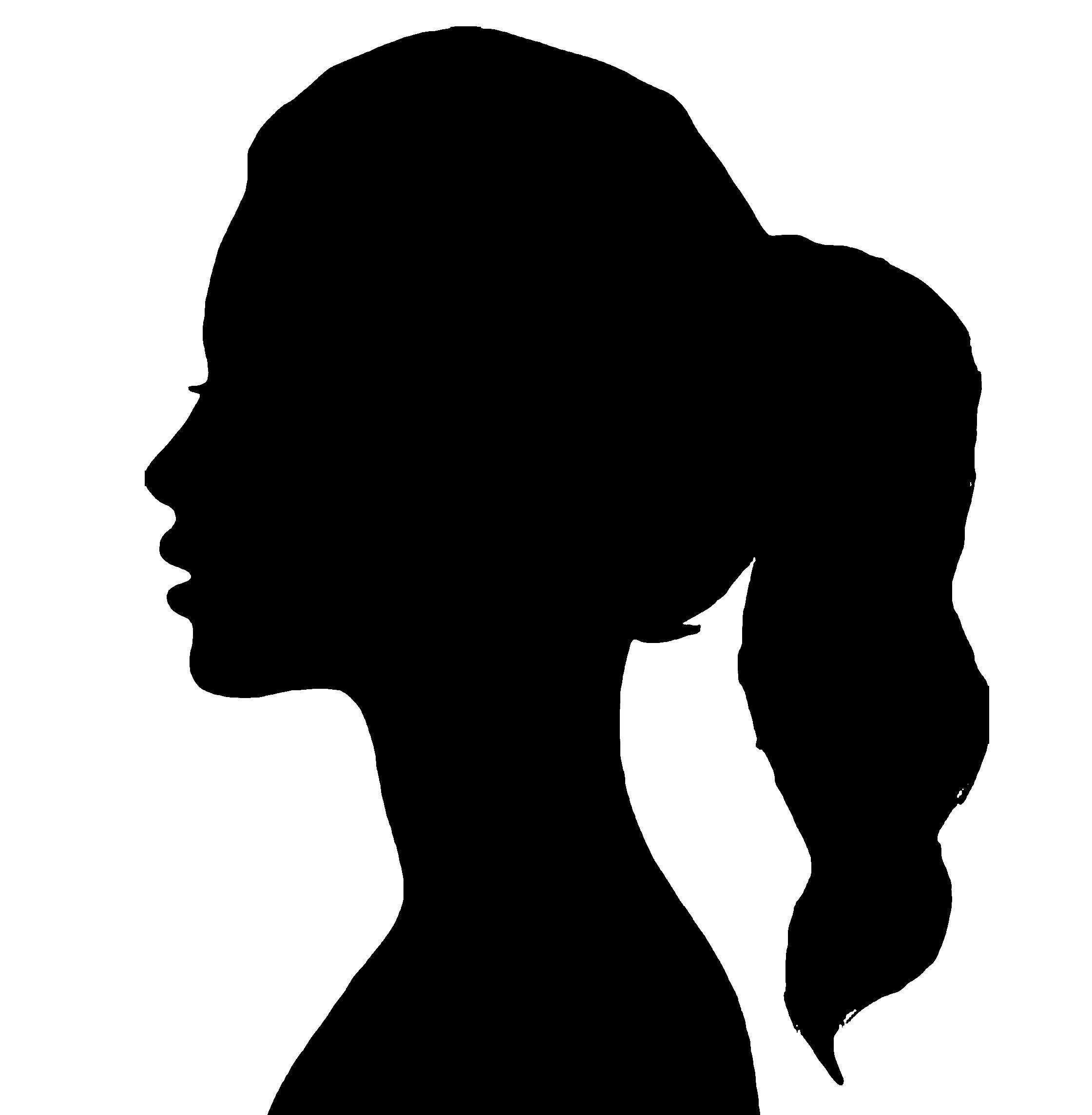 силуэт женщины