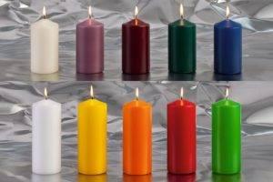Цвет восковой свечи