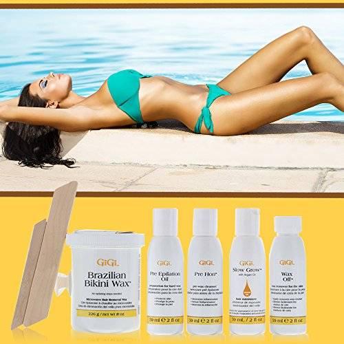 GiGi Brazilian Bikini Home Waxing Kit набор для депиляции