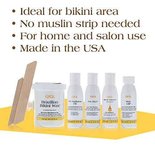 GiGi Brazilian Bikini Home Waxing Kit воск