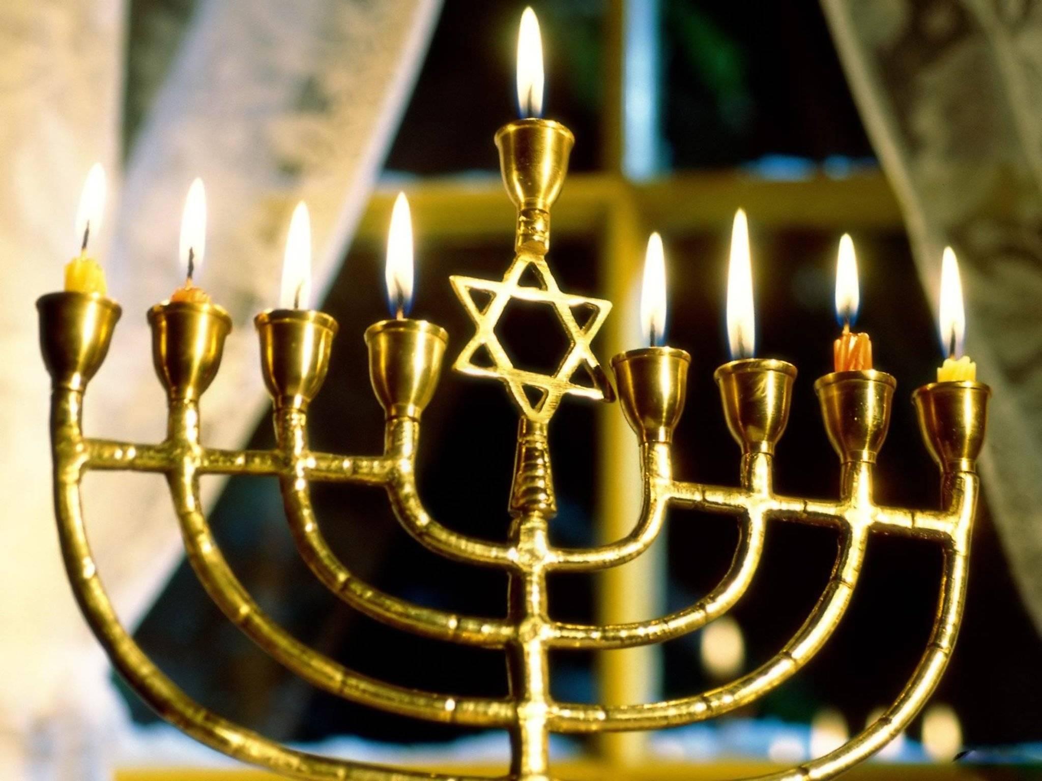 Ханука свечи