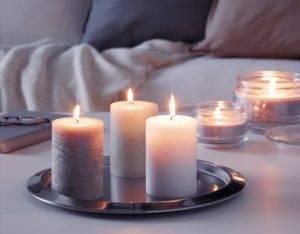 Использование свечи