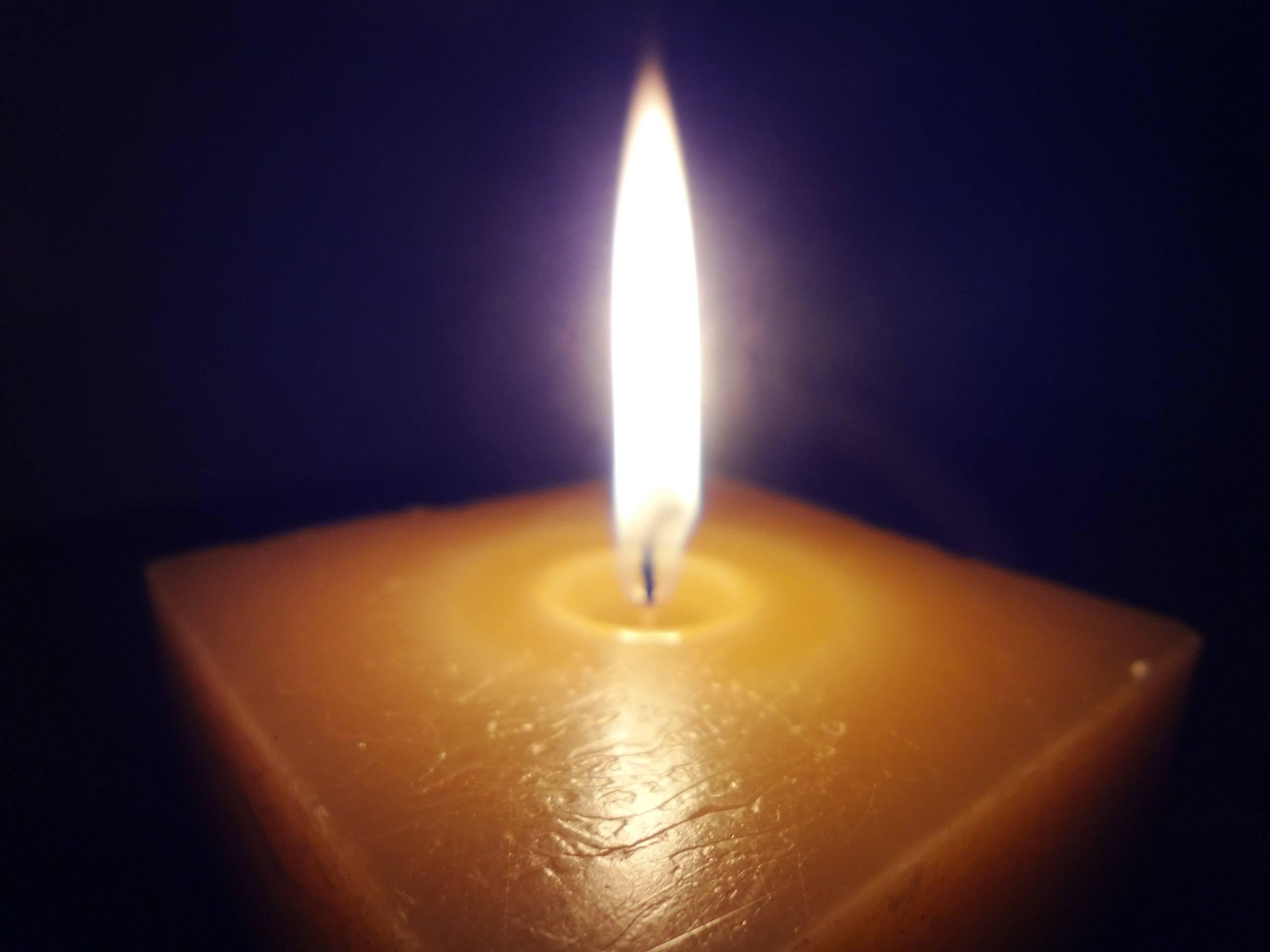 Использование свечи для измерения