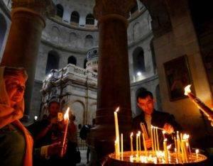 иерусалимские свечи для обрядов